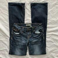 Womens Zana Di Jeans Embellished Bootcut Jeans Size 9