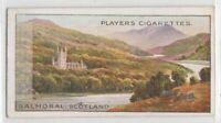 Balmoral Castle Aberdeenshire Scotland Prince Albert 100+ Y/O Trade Ad Card