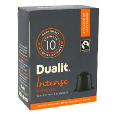 Dualit Intense Espresso 10 Coffee Capsules 52g salted for freshness