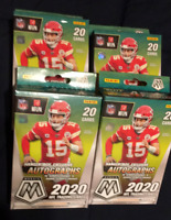 Lot of 4 - 2020 Panini Mosaic NFL Football Hanger Box New Sealed Boxes In Hand