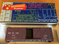 Roundhouse HO Scale 40' Seaboard Boxcar Kit #1032