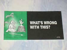 WHAT'S WRONG WITH THIS?   CHICK CHRISTIAN/ GOSPEL   2005   CHICK PUBLICATIONS