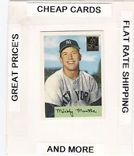 1996 TOPPS Mantle Commemorative Set MICKEY MANTLE  (Yankees) #4