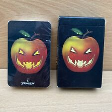 More details for retro strongbow halloween apple beer cider advertising playing cards - sealed