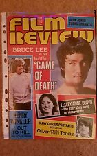 bruce lee,on cover of july 1978 film review. mint