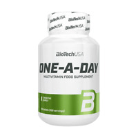 Biotech USA One A Day 100 Tabs High Dose Multi Vitamins For 3 Months +Bonus