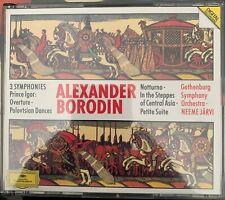 Borodin: Orchestral Works 2 CD Set Jarvi- Gothenburg Symphony DG Excellent used