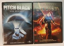 PELICULA DVD PACK PITCH BLACK+LAS CRONICAS DE RIDDICK