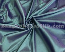 "GREEN SHOT VIOLET FAUX SILK TAFFETA 60"" FABRIC BTY Bridesmaid Dress Drape Skirt"