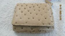 New Mundi Mini Womens Wallet Tan Beige