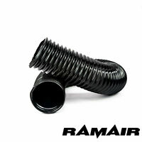 Ramair PVC Black Flexible Cold Air Ducting - Wire Wound Feed Duct Intake Extract