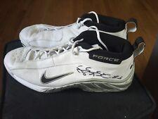 Shareef Abdur-Rahim Signed Game-Worn Sneakers Shoes Hologram COA NBA