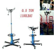 500kg Hydraulic Transmission Jack Stand Gearbox Car Engine Lifter Hoist 2 Stage