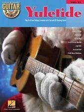 Guitar Play-along: Yuletide Vol. 21 (2003, CD / Paperback)