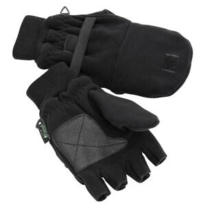 Pinewood Angler Jäger Handschuhe schwarz Jagd Outdoor Forst Wandern Angeln