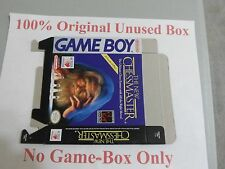 The New Chessmaster 100% Original Unused Box Only, Gameboy, Rare