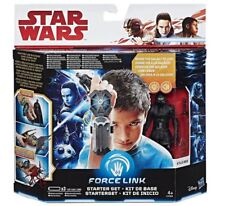 Hasbro Star Wars Force la última Jedi enlace Starter Set Pack & Kylo Ren Figura