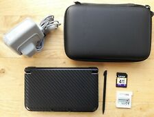 Nintendo 3DS XL Console - Black Skin - Mario Kart 7 - Lovely Condition - PAL ✅