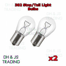 2 x 382 Rear Brake Tail Light Bulbs Car Auto Van Bulb VW Golf MK5 MKV 04-08