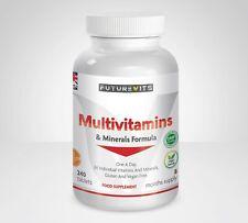 Multivitamins & Minerals Formula 240 tablets Multivitamin Made In UK Futurevits