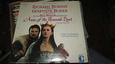 ANNE OF THE THOUSAND DAYS DECCA SOUNDTRACK LP SEALED GEORGES DELERUE