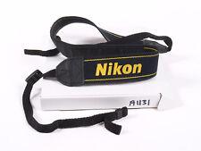 Correa para el Hombro Cámara Nikon Negro Amarillo 38 mm (A1131)