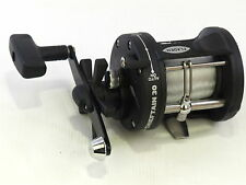 Fladen Chieftain 1bb Boat Rock Pier Sea 30L Multiplier Fishing Reel + 23lbs Line