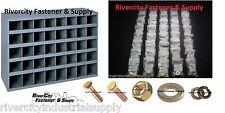 Grade 8 Bolt, Nut and Washer Assortment / Kit 1500 pcs With 40 Slot Storage Bin