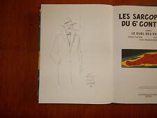 Belle Dedicace Juillard / Blake Et Mortimer Les Sarcophages Du 6e Continent 2 EO