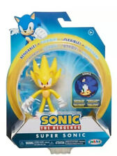 Sonic The Hedgehog 4-Inch Wave 2 Bendable Figure - Super Sonic
