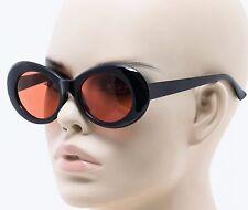 Vintage NIRVANA Kurt Cobain Round Sunglasses For Women Men Mirrored Eyewear