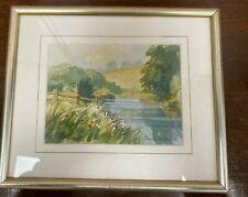 James Lester, Otterton, Devon Framed Original Painting (Hospiscare)