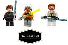 Lego Star Wars Jedi Lot - Ashoka Tano - Anakin - Obi-wan Minifigure [8098 7675]