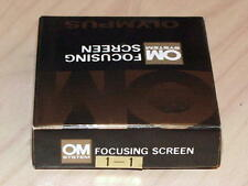OLYMPUS OM FOCUSING SCREEN 1-1 NEW IN BOX