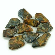 """PIETERSITE 1 Tumbled Polished 4.0-4.6 grams 1.0-1.45""""ea w/ Healing Property Card"""