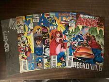 AVENGERS X-MEN Bloodties, MARVEL comics, 5 Issue Set (1993)