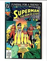 SUPERMAN THE MAN OF STEEL #20 FEB 1993 DC COMIC.#109582*4