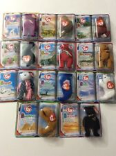 NIP Complete Set  11 McDonald's Teenie Beanie Babies 2000 Sealed