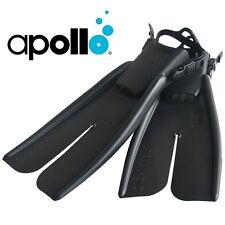 APOLLO BIO-FIN PRO - Size L - 100% Rubber Fins + FREE PACK STRAPS