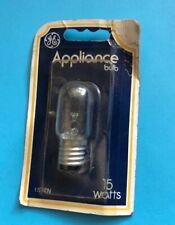*Nos* 15T7N-General Electric-15 Watt Appliance Bulb-Free Shipping*