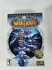 World of Warcraft - Wrath of the Lich King Expansion Set - discs manual, box