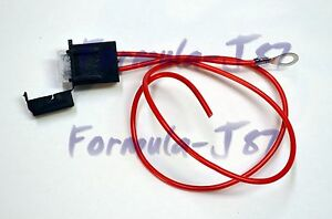 PROJECT USE FUSE HOLDER WIRE HARNESS 25A AMP 12V VOLT DC REPLACEMENT LIGHT LAMP