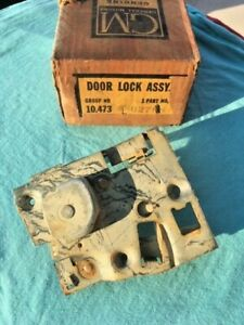 1960 Chevrolet Impala Bel Air Biscayne NOS Right Rear Door Lock Latch (2nd type)