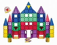 Playmags 100 Piece Super Set: With Strongest Magnet Tiles 18-piece Clickins