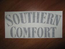 SOUTHERN COMFORT - VINYL STICKER - IN BLACK - NEW