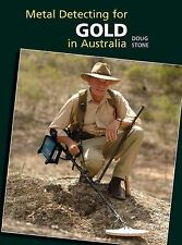 Metal Detecting For Gold In Australia by Doug Stone Hardback New new trackable f