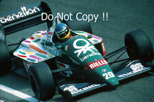 Gerhard Berger Benetton B186 Italian Grand Prix 1986 Photograph 1