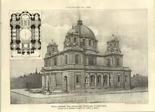 1904 Design For A Domed Church By Lionel Grace