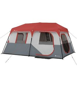 Ozark Trail 8 Person Instant Cabin Tent with LED Lights and Bluetooth Speaker