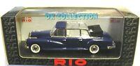Rio 1:43_MERCEDES-BENZ 300 L CABRIOLET - 1960 colore blu / blue (122)